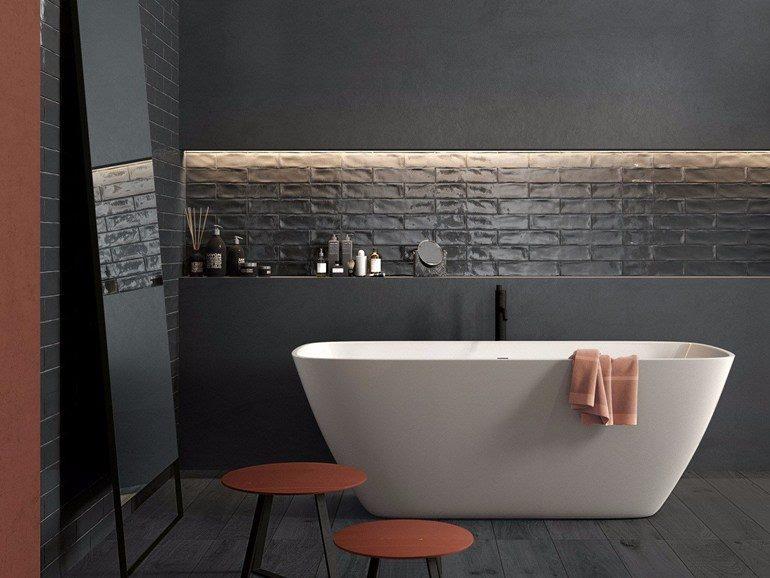 BRICK… 7,5 x 30  Nuovo formato di tendenza adatto a qualsiasi rivestimento, unisce una perfetta sintesi di tradizione e modernita'.