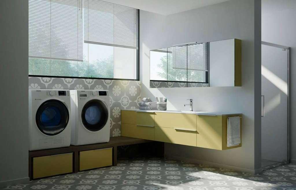 LA LAVANDERIA                        Estetica, innovazione ed originalità ridefiniscono completamente lo spazio a misura a lei dedicato .