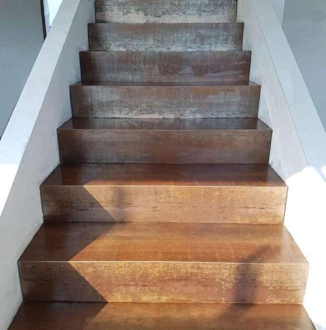 Scale : Alcune immagini di scale effettuate e personalizzate per i nostri clienti con gres porcellanato dai vari effetti…