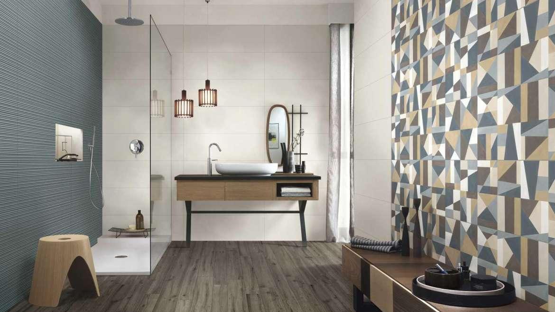 COLORPLAY by MARAZZI: un unico formato 30×90 cm rettificato, in 6 tonalità; una tavolozza arricchita da mosaici, decori a effetto acquerello e strutture tridimensionali, in linea con le contemporanee tendenze dell'interior design.